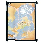 Equestria map iPad case - Apple iPad 2 Case (Black)