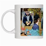 Gone Fishing white mug 1