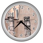 The Roman Time - Wall Clock (Silver)