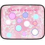 bathtime mini blanket - Fleece Blanket (Mini)