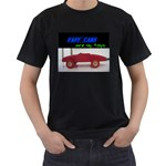fast cars   -t-shirt - Men s T-Shirt (Black)