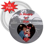 Vacation Button F - 3  Button (10 pack)