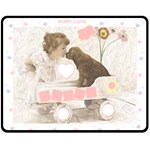 Puppy Love Med Blanket - Fleece Blanket (Medium)