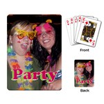 SHANNON/JAYMIE CARDS - Playing Cards Single Design (Rectangle)
