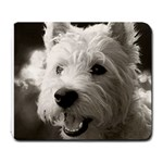 westie.puppy.mouse.pad - Large Mousepad