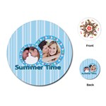summer time - Playing Cards Single Design (Round)