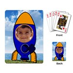 Space Rocket Playing Cards - Playing Cards Single Design (Rectangle)