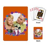 playing time - Playing Cards Single Design (Rectangle)