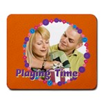 playing time - Large Mousepad