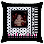 MMPILLOW2 - Throw Pillow Case (Black)