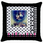 ronacalmaobien - Throw Pillow Case (Black)