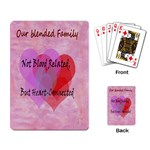 Blended Family Playing Cards - Playing Cards Single Design