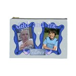 Dad and me fathers Day bits n bobs bag - Cosmetic Bag (Large)