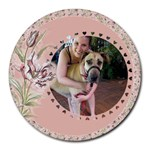Much Loved Mouse Pad - Round Mousepad
