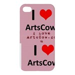I Love ArtsCow - Apple iPhone 4/4S Hardshell Case