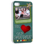 Pawpaw Phone - iPhone 4/4s Seamless Case (White)