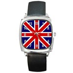 gb - Square Metal Watch