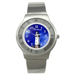 Silver Lighthouse Watch - Stainless Steel Watch