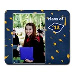 Graduation Mousepad 1 b - Large Mousepad