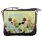 Spring Blossoms Messenger Bag 1