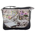 puppy love messenger bag