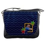Messenger Bag - Chevron