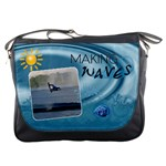 Making Waves Messenger Bag