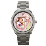 the girl - Sport Metal Watch