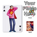 Phoenix Wright Deck - Playing Cards 54 Designs (Rectangle)