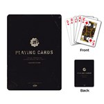 Fallout - Vault 21 Black Single Design - Playing Cards Single Design