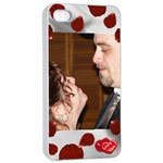 I Love You Apple 4/4s Seamless Case White - iPhone 4/4s Seamless Case (White)