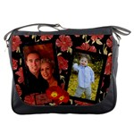 Red Poppy Messenger Bag
