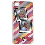 iphone 4 case white - iPhone 4/4s Seamless Case (White)