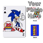 Sonic - Playing Cards 54 Designs (Rectangle)