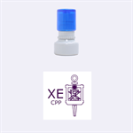 Chi Epsilon Stamp - Rubber Stamp Round (Small)