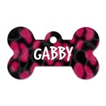 Gabby - Dog Tag Bone (Two Sides)