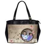 French Garden Vol1 - Oversize Handbag (2sides)  - Oversize Office Handbag (2 Sides)
