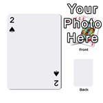 Balloon Cup 4 corners - Playing Cards 54 Designs (Rectangle)