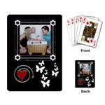 Black and White Playing Cards - Playing Cards Single Design (Rectangle)