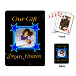 Gift from Heaven playing cards - Playing Cards Single Design (Rectangle)