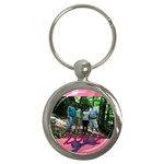 momma keychain - Key Chain (Round)