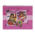XL Cosmetic Bag - rock princess - Cosmetic Bag (XL)
