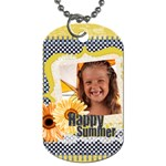summer - Dog Tag (Two Sides)