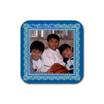 hung3 coaster - Rubber Coaster (Square)