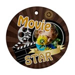 movie - Round Ornament (Two Sides)