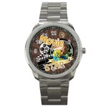movie star - Sport Metal Watch