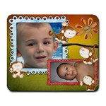 my monkeys mouse pad - Collage Mousepad
