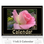 My Black and Gold  Wall Calendar 11x8.5 - Wall Calendar 11  x 8.5  (12-Months)
