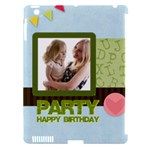 birthday party  - Apple iPad 3/4 Hardshell Case (Compatible with Smart Cover)