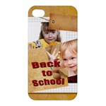 back to school - Apple iPhone 4/4S Hardshell Case